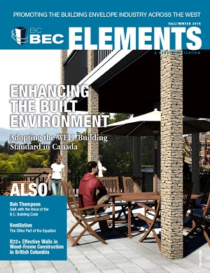 BCBEC ELEMENTS MAGAZINE FALL/WINTER 2015 EDITION