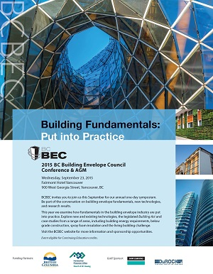 2015 BCBEC CONFERENCE & AGM Information and Conference Presentations