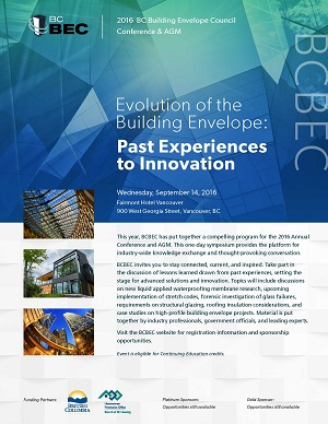 2016 BCBEC CONFERENCE & AGM Information and Conference Presentations