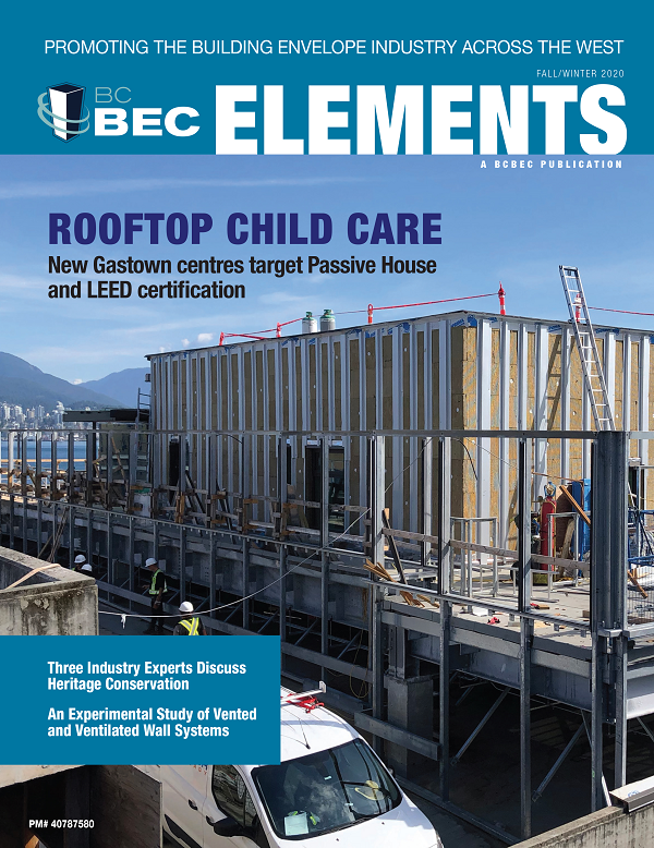 BCBEC ELEMENTS MAGAZINE FALL/WINTER 2020 EDITION